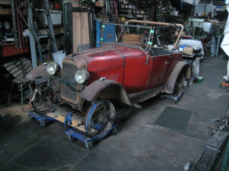 Amilcar roadster CC
